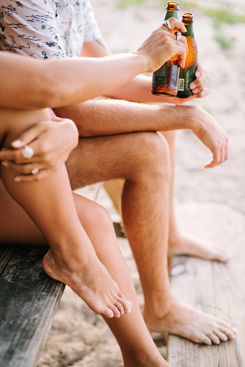 Couple_Toast_Beer_Beach_Lifestyle
